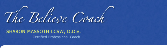 The Believe Coach Sharon Massoth